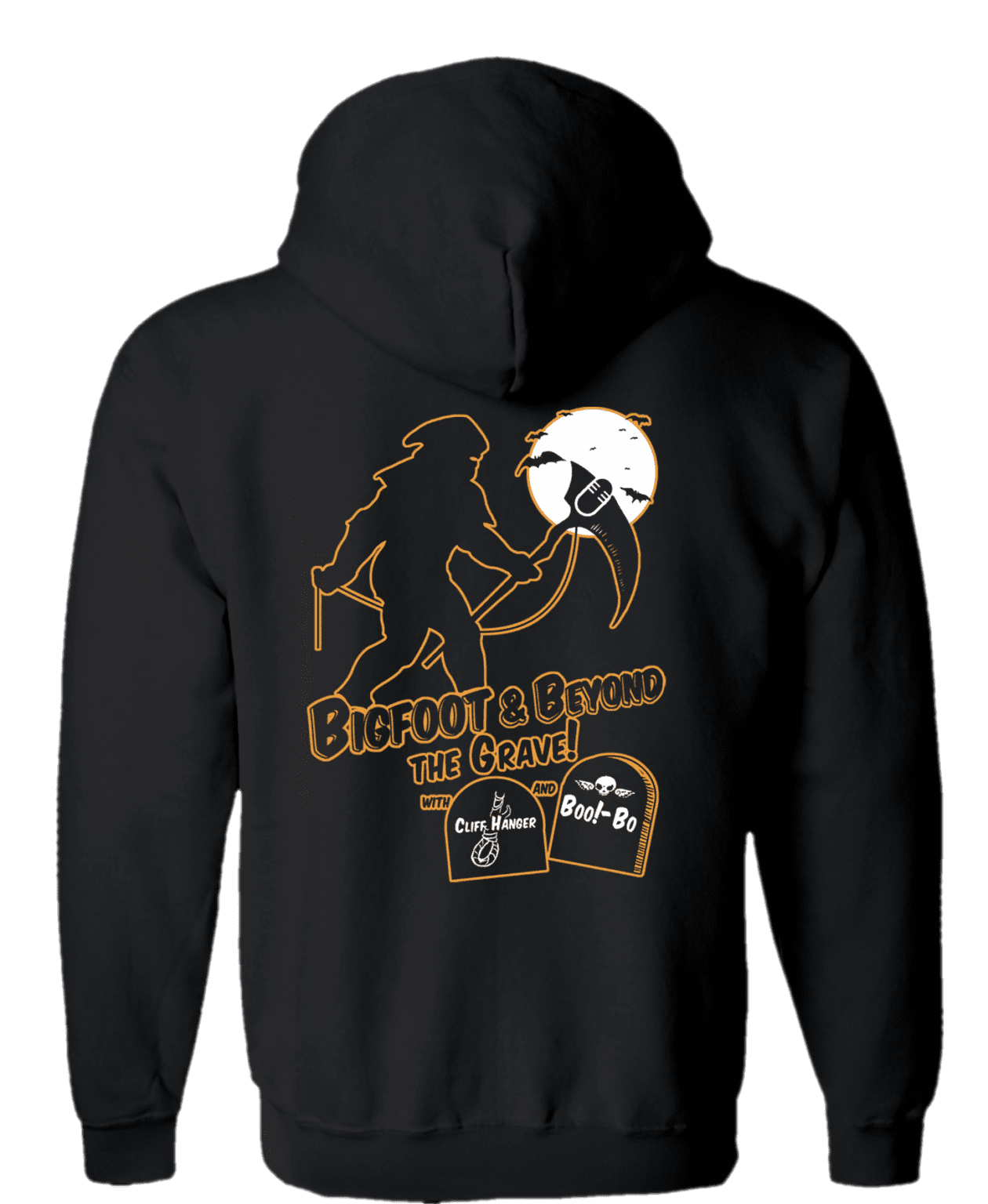 bigfoot and beyond halloween hoodie